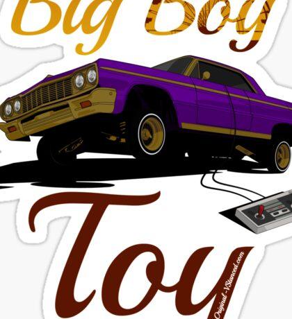 Big Boy Toy - Sticker  Sticker