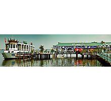 Floating Hanoi Restaurant Photographic Print