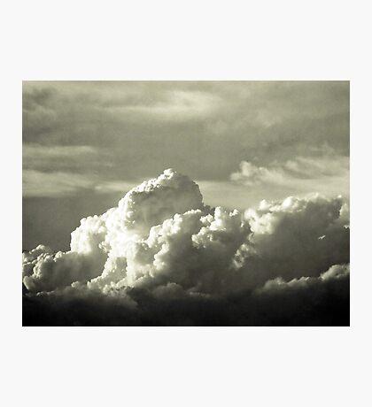 Cloud 3 B&W Photographic Print
