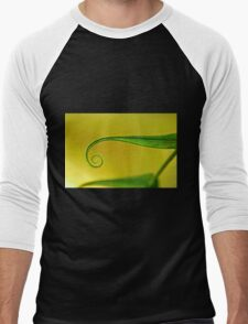 curled Men's Baseball ¾ T-Shirt