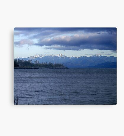 Across the Water Canvas Print