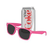 Sunglasses and Diet Coke *no halftones* by Stumbling