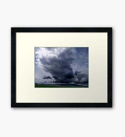Spring Storm Framed Print