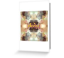 s t o d g y Greeting Card