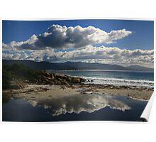 water cloud. bicheno, tasmania Poster