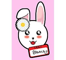 Bianca The Bunny Photographic Print