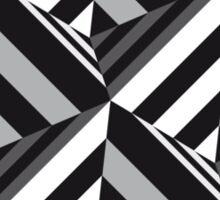 Pyramid Optical Illusion Sticker