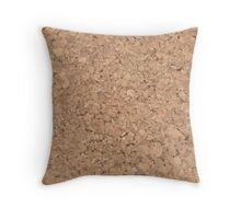 Cork Throw Pillow