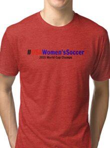 #USAWomen'sSoccer Tri-blend T-Shirt