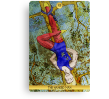 XII The Hanged Man Canvas Print