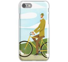 Tweed Cyclist on Mice Power Poster iPhone Case/Skin