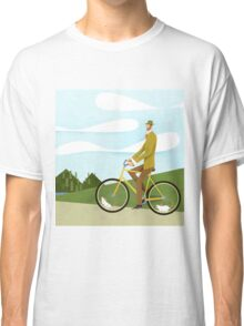 Tweed Cyclist on Mice Power Poster Classic T-Shirt