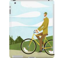 Tweed Cyclist on Mice Power Poster iPad Case/Skin