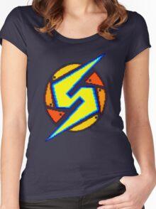 Super Metroid - Samus Logo Women's Fitted Scoop T-Shirt