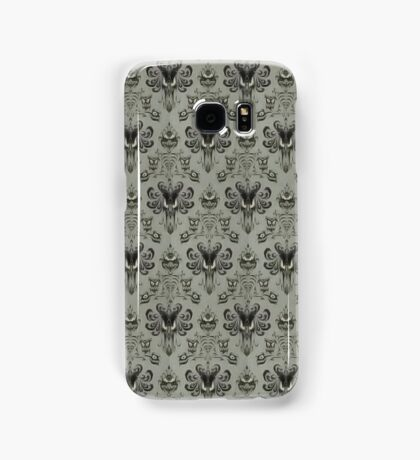 The Haunted Mansion Wallpaper Samsung Galaxy Case/Skin