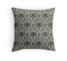 The Haunted Mansion Wallpaper Throw Pillow