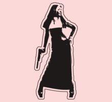 Gun Totting Nun II by TeeArt