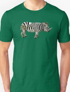RHino Zebra Unisex T-Shirt