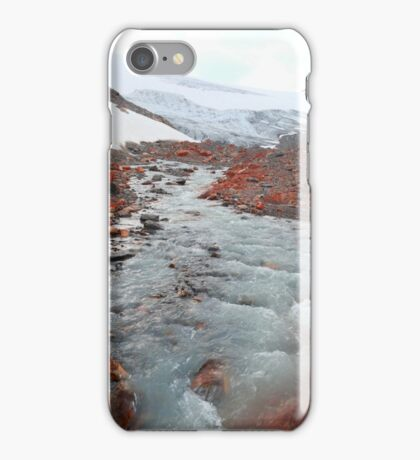Glacier outflow iPhone Case/Skin