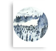 You'll Find Me In The Forest Metal Print