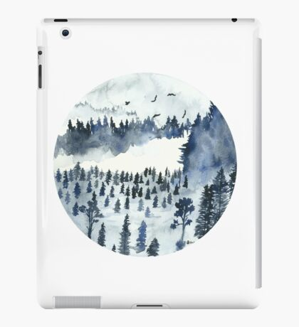 You'll Find Me In The Forest iPad Case/Skin