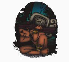 Mayan God One Piece - Long Sleeve