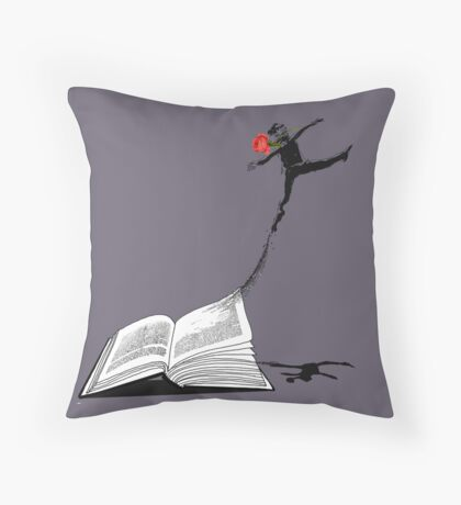 Underground Man Escapes Throw Pillow