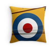 Bulls-eye! Throw Pillow