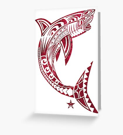Great White Bite Greeting Card