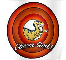 Clever Girl - Looney Tunes Poster