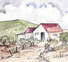 Die plaashuis | The farmhouse  by Maree  Clarkson