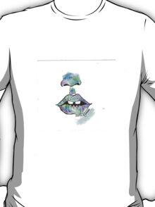 lips watercolor  T-Shirt