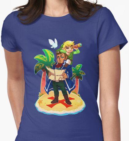Phantom Hourglass Treasure Hunt Womens Fitted T-Shirt