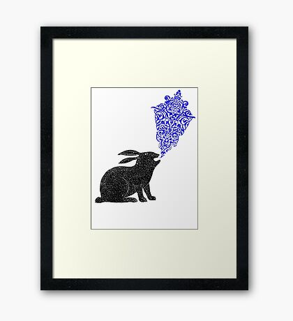 Rabbit Sings the Blues Framed Print
