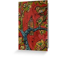 Birds on Branches Greeting Card
