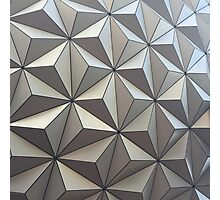 Spaceship Earth, up close Photographic Print