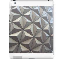 Spaceship Earth, up close iPad Case/Skin