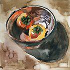 persimmon by Tomoe Nakamura
