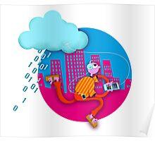 Cloud computing / commuting Poster