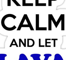 Keep Calm and Let SLAVAY Handle it Sticker