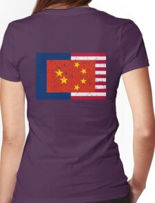 Anglo-Sino Alliance Womens Fitted T-Shirt