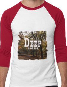 Deep Forest Men's Baseball ¾ T-Shirt