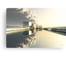 Q-City-Four Canvas Print