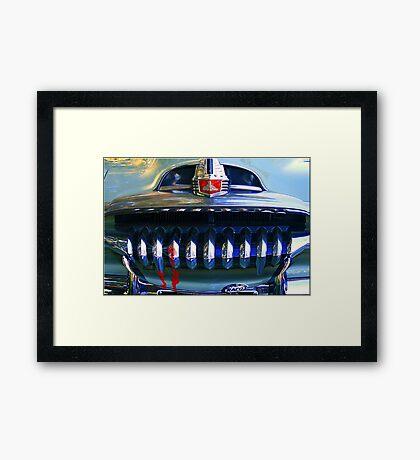 Sabre Toothed Tiger Framed Print
