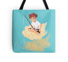 Cloud Fishing Tote Bag