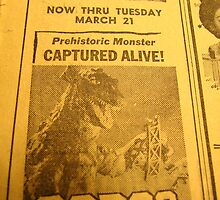 1961 Movie listing-GORGO by Joni  Rae