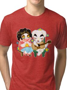 Steven Crossing? Tri-blend T-Shirt