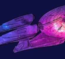 Star Trek - The Enterprise by SedatedArtist