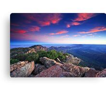 St Mary Peak Sunrise Canvas Print