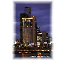 Crown Casino 2 Photographic Print